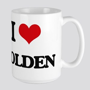 I Love Holden Mugs