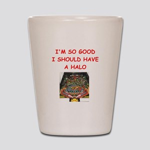 pinball joke Shot Glass