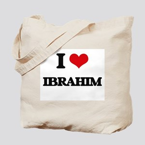 I Love Ibrahim Tote Bag