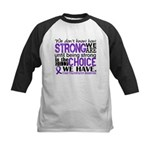 Chiari How Strong We Are Kids Baseball Jersey