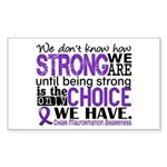 Chiari How Strong We Are Sticker (Rectangle)
