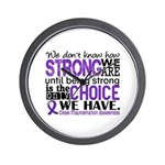 Chiari How Strong We Are Wall Clock