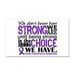 Chiari How Strong We Are Rectangle Car Magnet