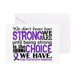 Chiari How Strong We Are Greeting Card