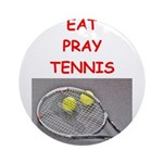 tennis joke Ornament (Round)