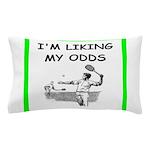 tennis joke Pillow Case