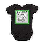 tennis joke Baby Bodysuit