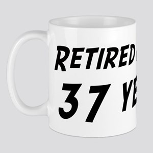 Retired after 37 years Mug