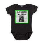tennis joke Baby Bodysuit