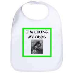 tennis joke Bib