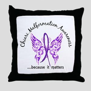 Chiari Butterfly 6.1 Throw Pillow