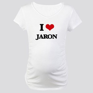 I Love Jaron Maternity T-Shirt