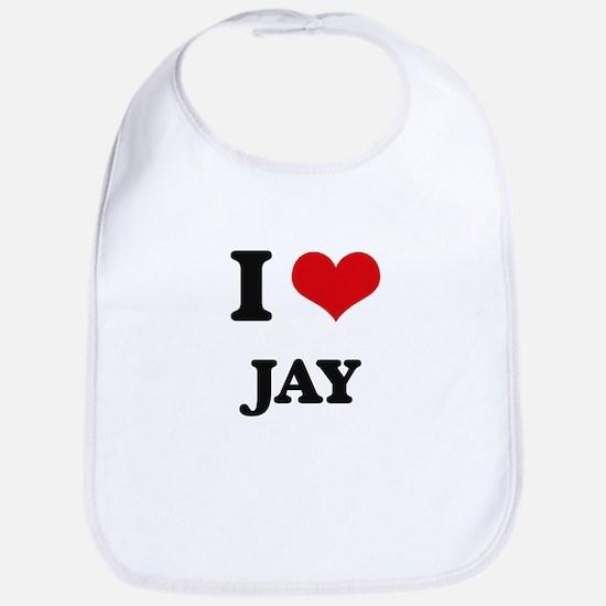 I Love Jay Bib