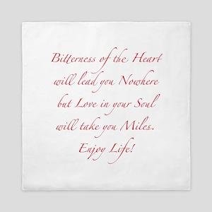 Love in your Soul Queen Duvet