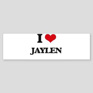 I Love Jaylen Bumper Sticker