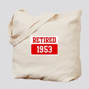Retired 1953 (red) Tote Bag