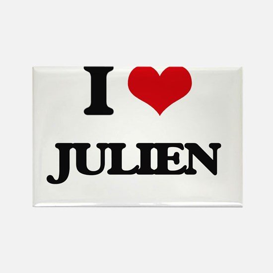 I Love Julien Magnets