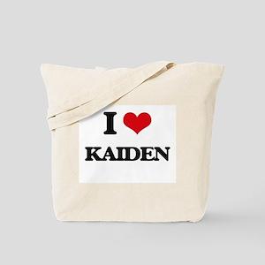 I Love Kaiden Tote Bag