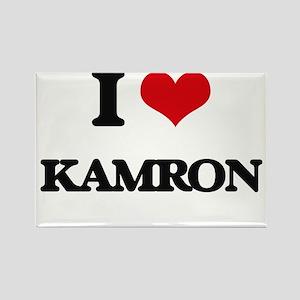 I Love Kamron Magnets