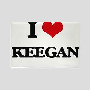 I Love Keegan Magnets