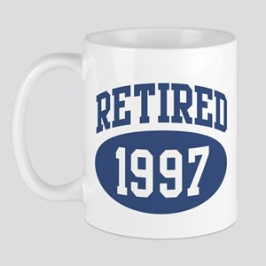 Retired 1997 (blue) Mug
