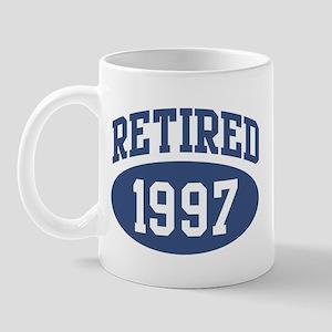 Retired 1997 (blue) Mug
