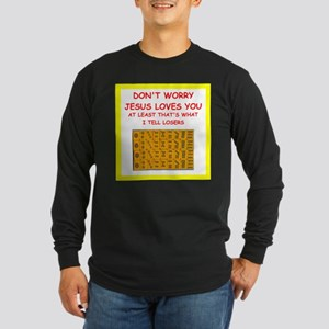 mahjong joke Long Sleeve T-Shirt
