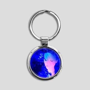 Deep Sea Goddess Round Keychain