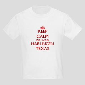 Keep calm we live in Harlingen Texas T-Shirt