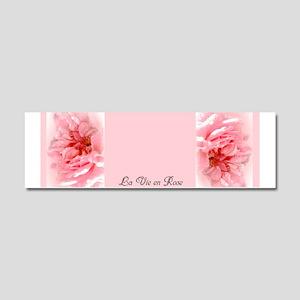 La Vie en Rose Car Magnet 10 x 3