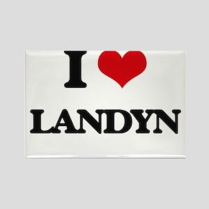 I Love Landyn Magnets