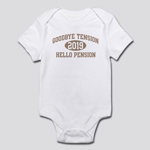 Hello Pension 2019 Infant Bodysuit