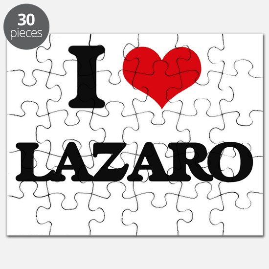 I Love Lazaro Puzzle