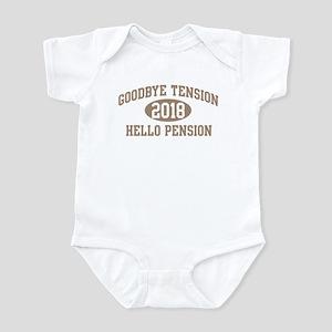 Hello Pension 2018 Infant Bodysuit