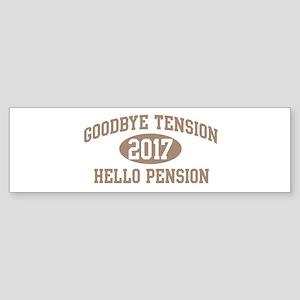 Hello Pension 2017 Bumper Sticker