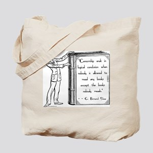 Shaw on Censorship<br> Tote Bag