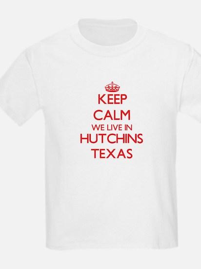 Keep calm we live in Hutchins Texas T-Shirt
