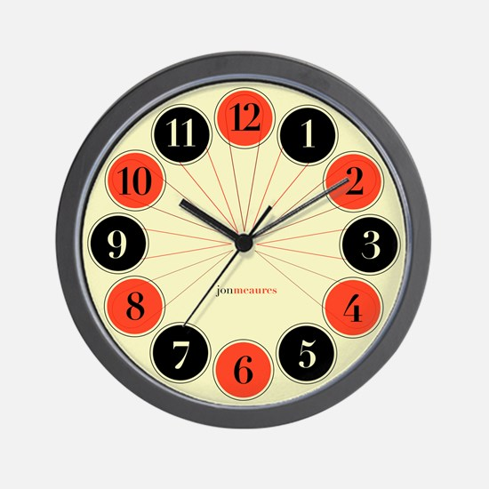 Funny Face time Wall Clock