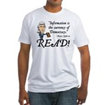 Thomas Jefferson - Read!<br> Fitted T-Shirt
