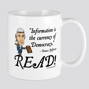 Thomas Jefferson - Read!<br> Mug