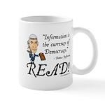 Thomas Jefferson - Read!<br> Mug
