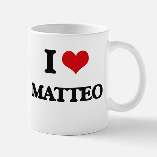 I Love Matteo Mugs