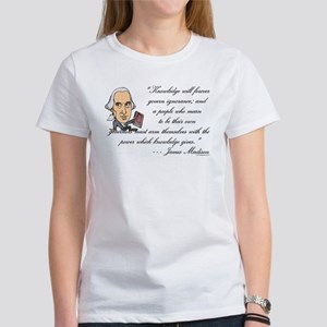 Madison on Knowledge<br> Women's T-Shirt