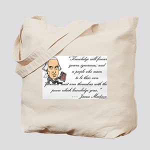 Madison on Knowledge<br> Tote Bag
