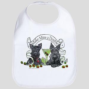 Scottish Terrier Double Bib