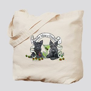 Scottish Terrier Double Tote Bag