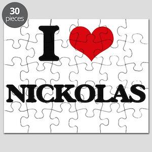 I Love Nickolas Puzzle