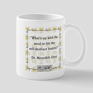 SELF-DESTRUCT Mug