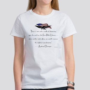 Andrew Carnegie-Libraries<br> Women's T-Shirt