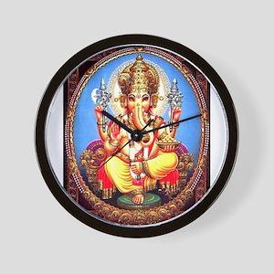 Ganesh / Ganesha Indian Elephant Hindu Wall Clock